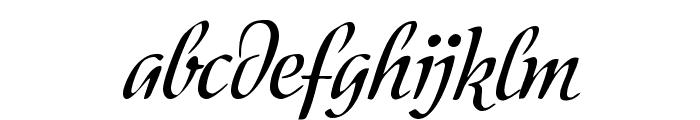 Modeschrift Font LOWERCASE