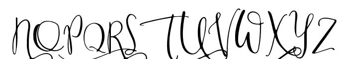 ModestyRegular Font UPPERCASE