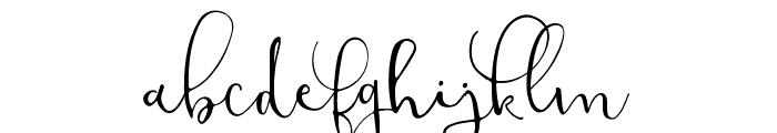 ModestyRegular Font LOWERCASE
