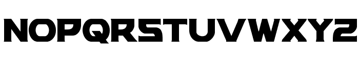Modi Thorson Condensed Font LOWERCASE