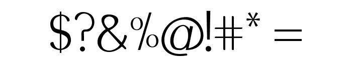 Modikasti-Regular Font OTHER CHARS