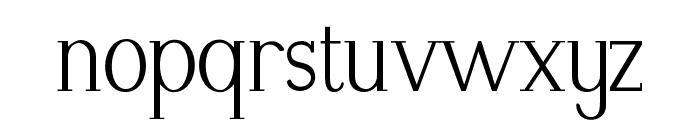 Modikasti-Regular Font LOWERCASE