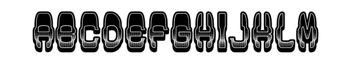 Modish Gradient Regular Font LOWERCASE
