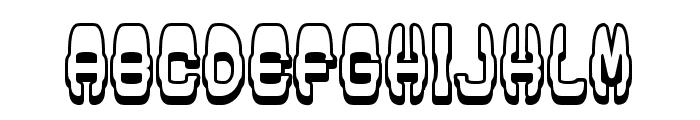 Modish Regular Font UPPERCASE