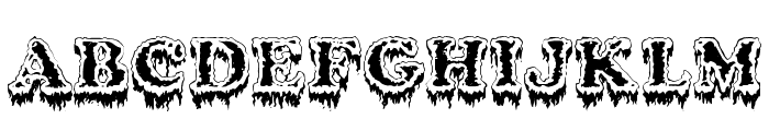 Modius Frigid Font UPPERCASE
