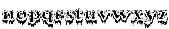 Modius Frigid Font LOWERCASE