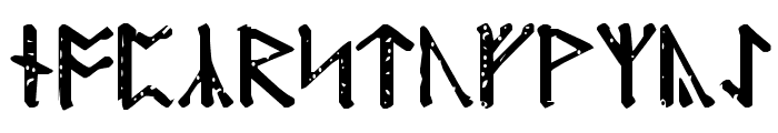 Modraniht Runic Font UPPERCASE