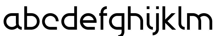 Modulario Font LOWERCASE
