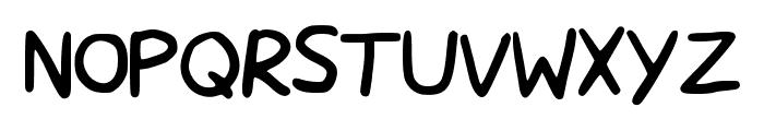 MoguFont Font UPPERCASE