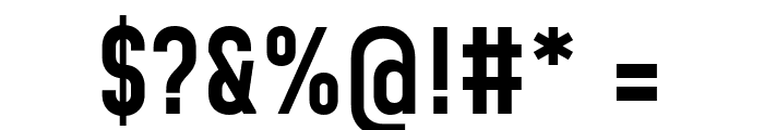 Mohave Medium Font OTHER CHARS