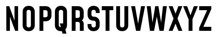 Mohave Medium Font UPPERCASE