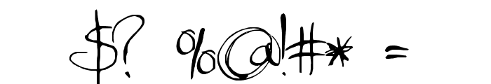 MoiNonPlus Font OTHER CHARS