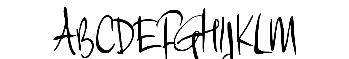 MoiNonPlus Font UPPERCASE