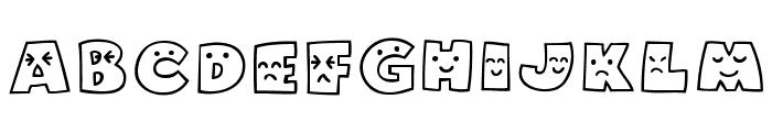 Mojirou Font UPPERCASE