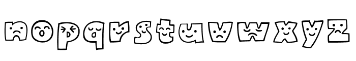 Mojirou Font LOWERCASE