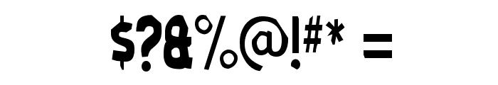 MoldPapa-Regular Font OTHER CHARS