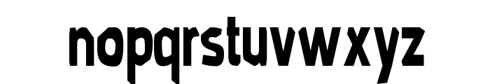 MoldPapa-Regular Font LOWERCASE