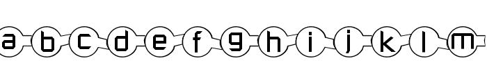 Molecular Font UPPERCASE