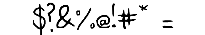 Moll script Font OTHER CHARS