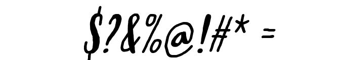 Molleat Italic Font OTHER CHARS
