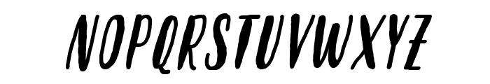 Molleat Italic Font UPPERCASE