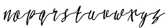 Molluca-Italic Font LOWERCASE