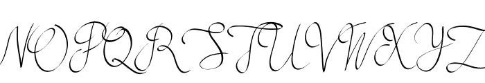 Mollucash Font UPPERCASE