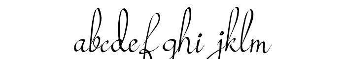 Mollucash Font LOWERCASE