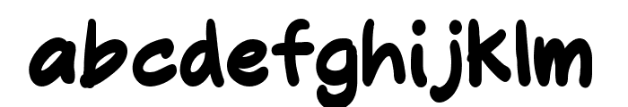 Molly Jack Regular Font LOWERCASE