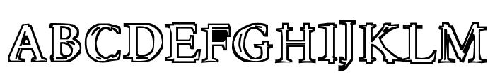 Molten Font UPPERCASE