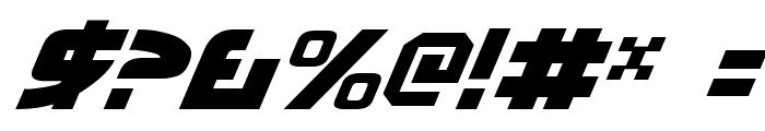 Moltors Italic Font OTHER CHARS