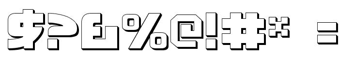 Moltors Outline Font OTHER CHARS