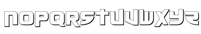 Moltors Outline Font UPPERCASE