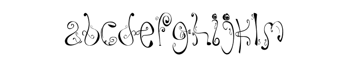 MombeR Font LOWERCASE