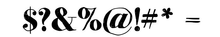 MomsDiner Font OTHER CHARS
