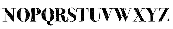MomsDiner Font UPPERCASE