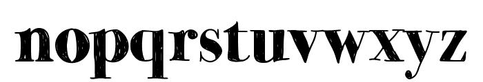 MomsDiner Font LOWERCASE
