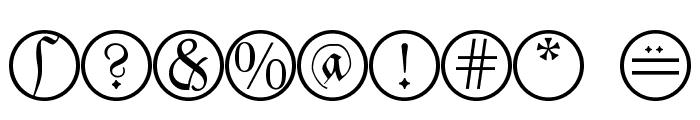 MonAmourCapsAprilFraktur Font OTHER CHARS