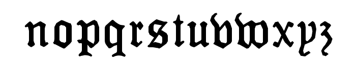 MonAmourFraktur-Broken Font LOWERCASE