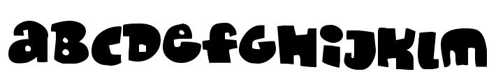 Monafont Font LOWERCASE