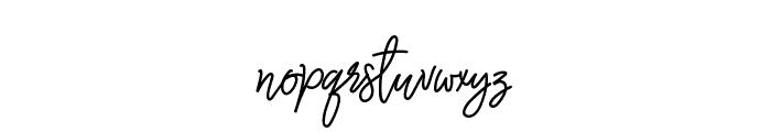 Monalisa Monoline Script Font LOWERCASE