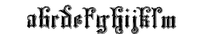 Monarchia Font LOWERCASE