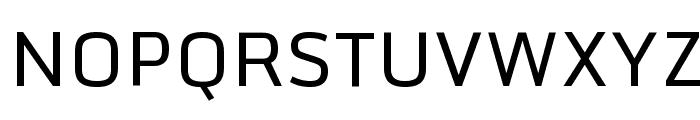 Monda Regular Font UPPERCASE