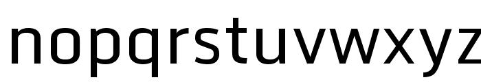 Monda Regular Font LOWERCASE