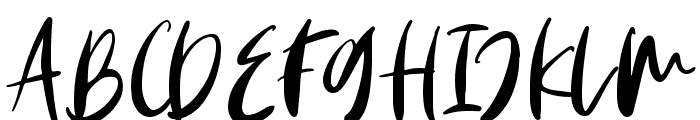 Monday Vibes Font UPPERCASE
