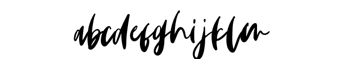 Monday Vibes Font LOWERCASE