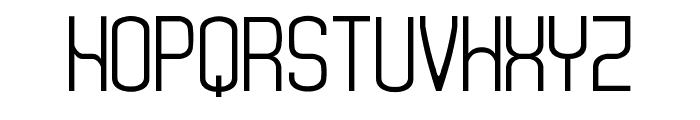 Monday [sRB] Font UPPERCASE