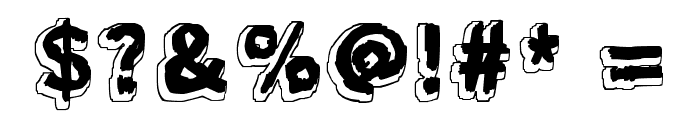 Mondo Bongo Font OTHER CHARS