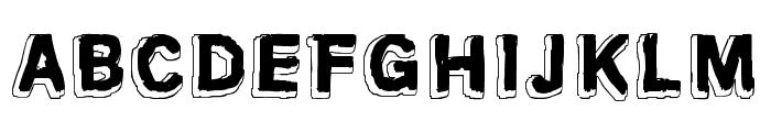 Mondo Bongo Font UPPERCASE