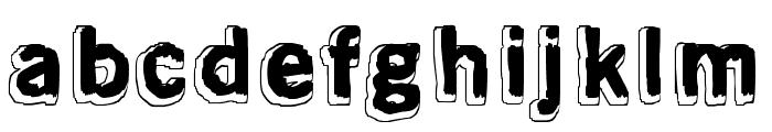 Mondo Bongo Font LOWERCASE
